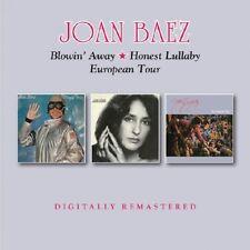 JOAN BAEZ - BLOWIN AWAY/HONEST LULLABY/EUROPEAN TOUR  2 CD NEUF