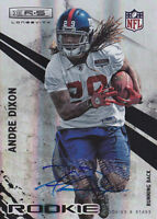 2010 Rookies & Stars Longevity Autographs #170 Andre Dixon RC Auto #/249