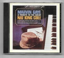 RARE CD / MARVIN GAYE - A TRIBUTE TO THE GREAT NAT KING COLE / 12 TITRES MOTOWN