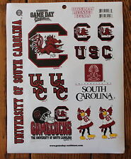 11 Gamecocks Stickers University of South Carolina Decal NCAA College Football