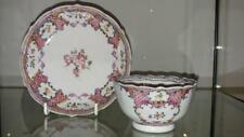 Exquisite 18th C Chinese Export Famile Rose Porcelain Tea Bowl and Saucer
