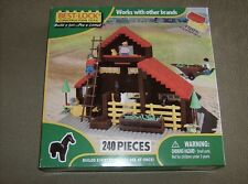 Best Lock Construction Toys 240 piece Childrens farm play set NIB ages 3 + new