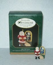 Hallmark Ornament - Collector's Club - Night Before Christmas - Jolly Old Santa