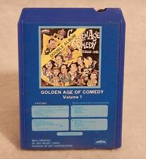 The Golden Age of Comedy Volume 1 : 8-Track Double Album 1972 Over an Hour