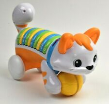 LeapFrog Count & Crawl Musical Cat Toy Early Learning Kitty Orange Baby Toddler