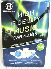 Hearprotek High Fidelity Ear Plugs Concert Noise Reduction Music Protection