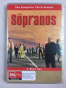 THE SOPRANOS - Season 3  x DVD Set Crime Drama Classic Third Series Three