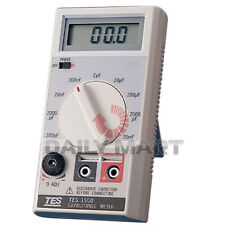 TES1500 Digital Capacitance Tester Meter up to 20mF 20000uF NEW