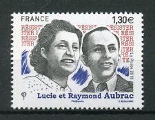 France 2018 MNH WWII WW2 Resistance Lucie Raymond Aubrac 1v Set Military Stamps