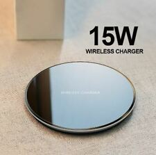 15W qi Wireless Charger pad for iPhone X XR XS Max 8 fast wireless Charging