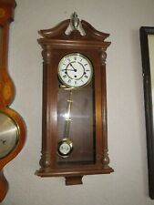 More details for a good working hermle 8 day westminster chime wall clock *serviced*
