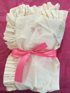 Simply Shabby Chic Quilted Standard Pillow Sham Roses Pink Floral