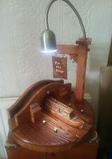Handmade   River boat  table light