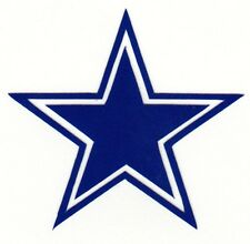 REFLECTIVE Dallas Cowboys decal sticker various sizes up to 12 inches