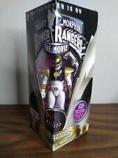 Mighty Morphin Power Rangers White~~Original 1995 Movie Edition Figure~~ NIB