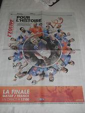 """HANDBALL EQUIPE DE FRANCE 2015 """"POUR L'HISTOIRE"""" N°XXL COLLECTOR Voir photo"""