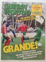 GUERIN SPORTIVO 8-1987 ALTOBELLI MARADONA PLATINI FILM DEL CAMPIONATO
