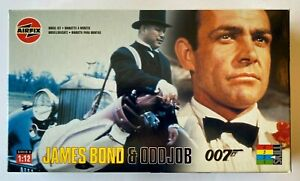 "Airfix ""James Bond 007 & Oddjob"" Model Kit #04402 MIB 1:12 Scale GOLDFINGER"