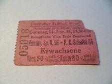 Meisterschaft 1935 Hannover 96-Schalke 04 in Dortmund DFB **373**