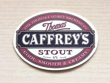 SOTTOBICCHIERE - BIRRA THOMAS CAFFREY'S STOUT - THE UNDER GLASS OF BEER - AS NEW