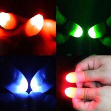 Evade glue Super Bright Finger Lights Close Up Thumbs Fingers Trick Magic Light