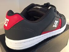 Dc Shoes Grey n' Red Leather Skateboarding Mens US Size 9 (Sup Fresh Kicks)