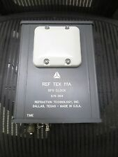 Ref Tek 111A Gps Clock 8/N 364 Refraction Technology Inc Reftek