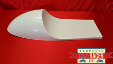 VINCENT STYLE CAFE RACER SEAT NEW & UNUSED IN WHITE