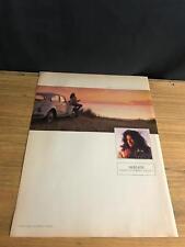 1989 VINTAGE 9x12 PRINT AD NESCAFE COFFEE MAKE A FRESH START VW BEETLE