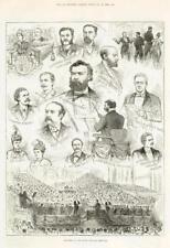 1886 - Antique Print YORKSHIRE Leeds Music Festival Dvorak Spark Broughton (127)