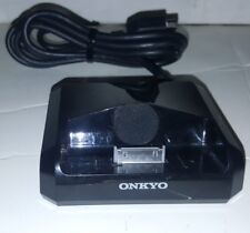ONKYO UP A1 UNIVERSAL PORT ADAPTER OPTION DOCK FOR APPLE IPOD BLACK