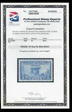 Scott #650 PSE Graded XF-Sup 95 Mint OGnh - 1928 5ct Blue Aeronautics Conference
