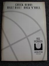 Chuck Berry-Hail Hail Rock n Rock-Presseinformation-Press Kit-USA 1987-Richards