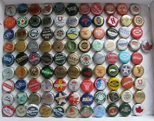 100 DIFFERENT MIXED WORLDWIDE BEER/SODA  BOTTLE CAPS
