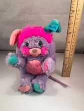Vintage 1980's Pretty Bit Purple/Pink Popple 6""