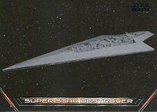 Star Wars Galactic Files Reborn Vehicles Chase Card V-1 Super Star Destroyer