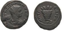 Ancient Rome AD228/9 SEVERUS ALEXANDER CAPPADOCIA CAESAREA Eusebia KALATHOS Corn
