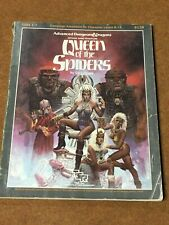 TSR AD&D Module - GDQ1-7 QUEEN OF THE SPIDERS (9179) - 1986 (see description)