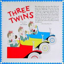 THREE TWINS 1926 Lew Lipton MGM ADVERTISEMENT