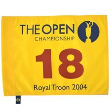 2004 OFFICIAL (Royal Troon) BRITISH OPEN Golf Flag
