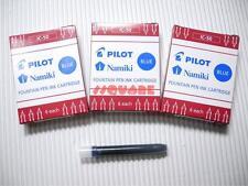 18 x pilote IC-50 namiki stylo plume cartouches d'encre 78G prera, bleu (3 boîtes)