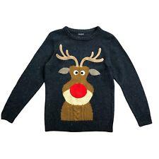 NEXT Boys Kids Christmas Hoolidays Knit Sweater Jumper Size 10 Yrs 140 cm