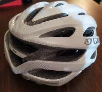 50-57cm Giro Bike Helmet Women's Verona Size White Adjustable NEW NWOB