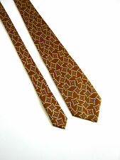 KENZO Parìs Tie COME NUOVA AS A NEW Hand Made 100% SETA SILK ORIGINALE