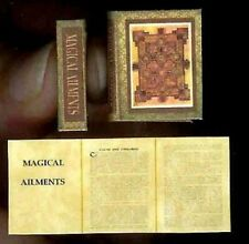 Handcrafted Miniature Book Uncle Tom/'s Cabin with Dust Jacket for 1:12 Dollhouse