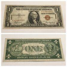 VINTAGE rare HAWAII $1 F-C 1935-A SILVER CERTIFICATE ONE DOLLAR HAWAI'I FC BROWN
