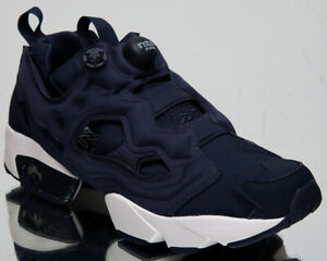 Reebok Classic InstaPump Fury OG MU Mens Navy Lifestyle Sneakers Shoes DV6986