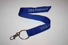 CEB platinium porte-clés/Lanyard Neuf!!!