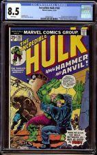 Incredible Hulk # 182 CGC 8.5 White (Marvel, 1974) Wolverine cameo