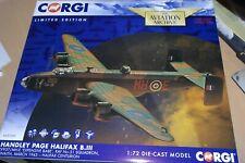CORGI AVIATION 1:72 HANDLEY PAGE HALIFAX B.III EXPENSIVE BABE NO 51 SQN RAF 1945